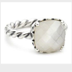Brand New Pandora Mother of Pearl Ring *Retired*